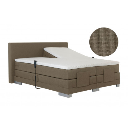Elektrische boxspring Paris Chicago Beige