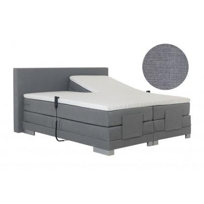 Elektrische boxspring Paris Chicago Grey