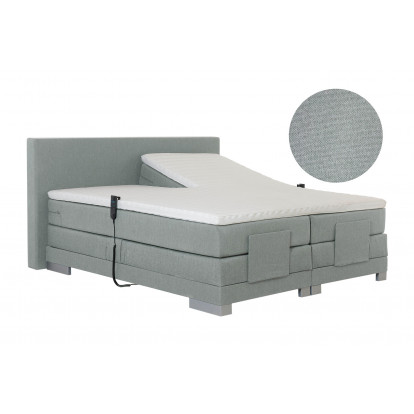 Elektrische boxspring Paris Detroit Light Grey