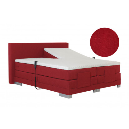 Elektrische boxspring Paris Detroit Red