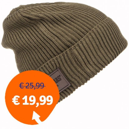 Poederbaas Essentials EB16005 Leger groen