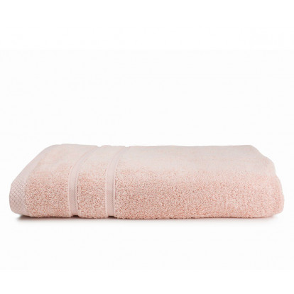 The One Towelling Bamboo handdoek 70 x 140 Salmon Pink