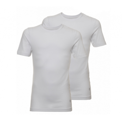 Ten Cate 2-pack Boys T-shirt Basic White