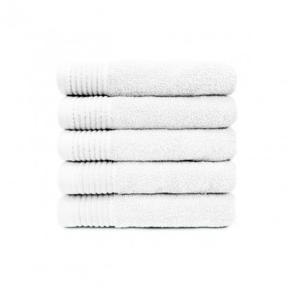 The One Handdoek Deluxe 50x100 cm 550 gr Wit (5 stuks)