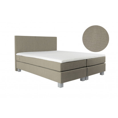 Boxspring Valencia Detroit Light Beige