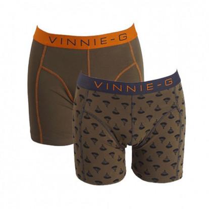 Dagaanbieding Vinnie-G boxershorts Military Olive 6-pack