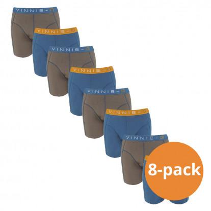 Vinnie-G Boys Kinder boxershorts Wakeboard Uni - 8-pack