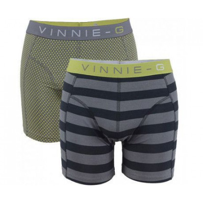 Dagaanbieding Vinnie-G boxershorts Lime 6-pack