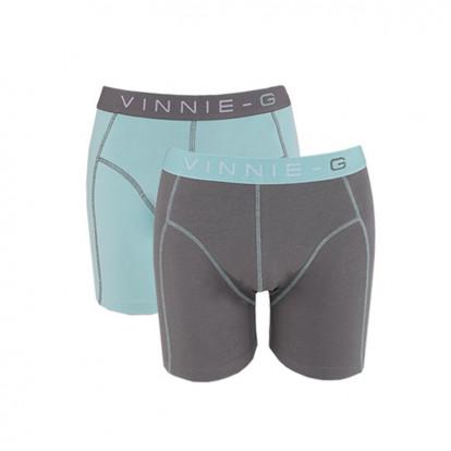 Dagaanbieding Vinnie-G boxershorts Mint 6-pack