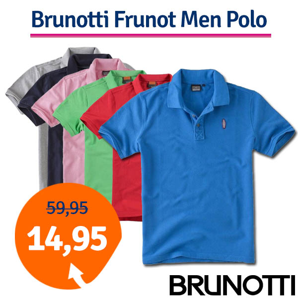 Brunotti Frunot Mens Polo Red-S