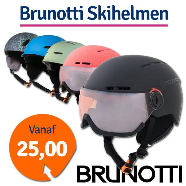 Brunotti Proxima 2 Junior Skihelm Fluo Pink maat 52/56
