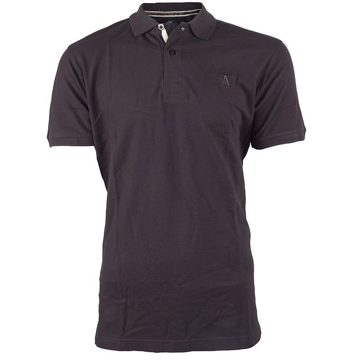Shirt royal Taupe G-Santi Casual