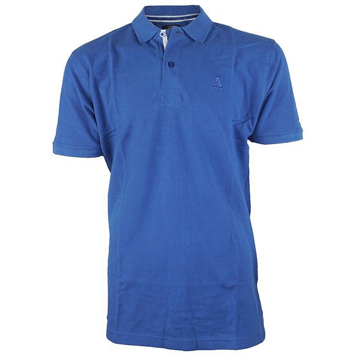 Shirt royal Blue G-Santi Casual