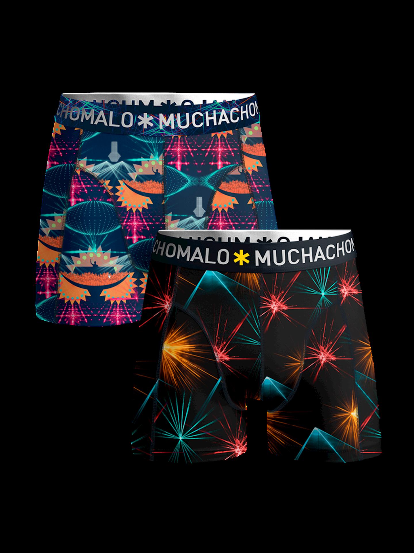 Muchachomalo Boxershorts EDM Music 2-pack