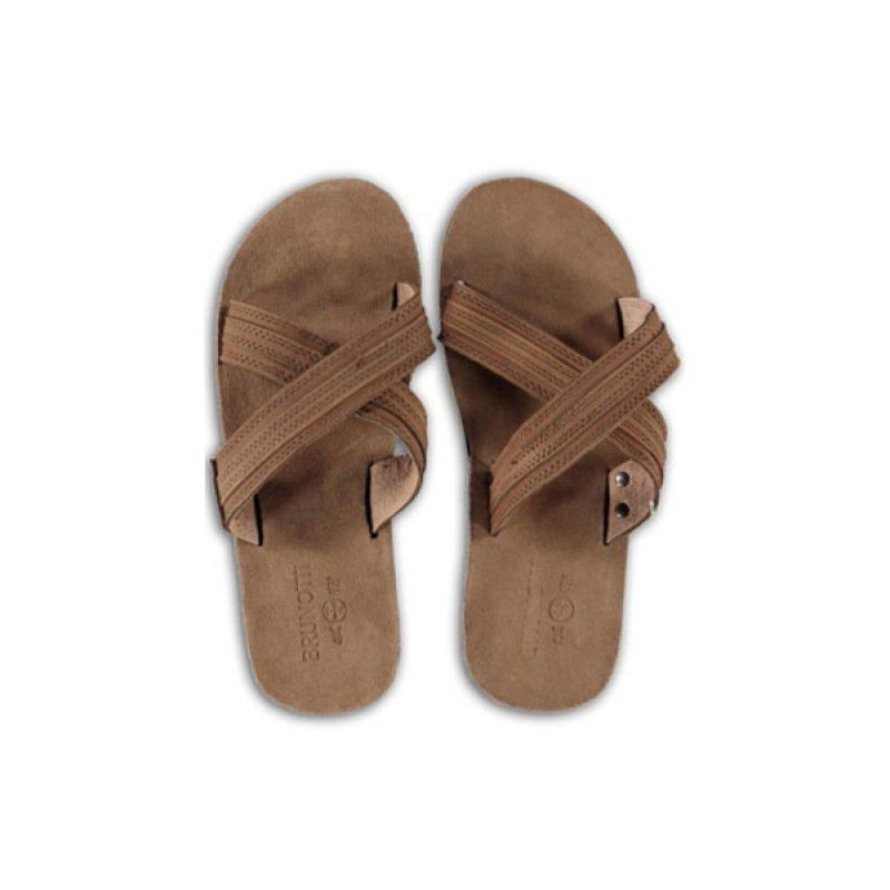 Brunotti slippers Epico Bruin