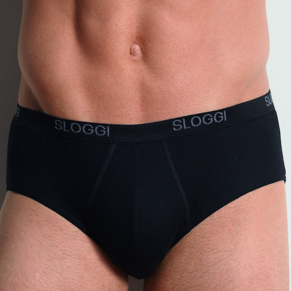 Sloggi Men Basic Midi Zwart