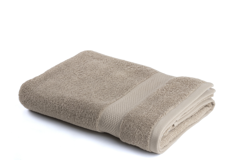 Seashell Handdoek 70 x 140 cm 500 gram Taupe