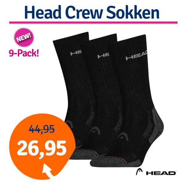Dagaanbieding Head Crew Sokken 9 paar-43/46
