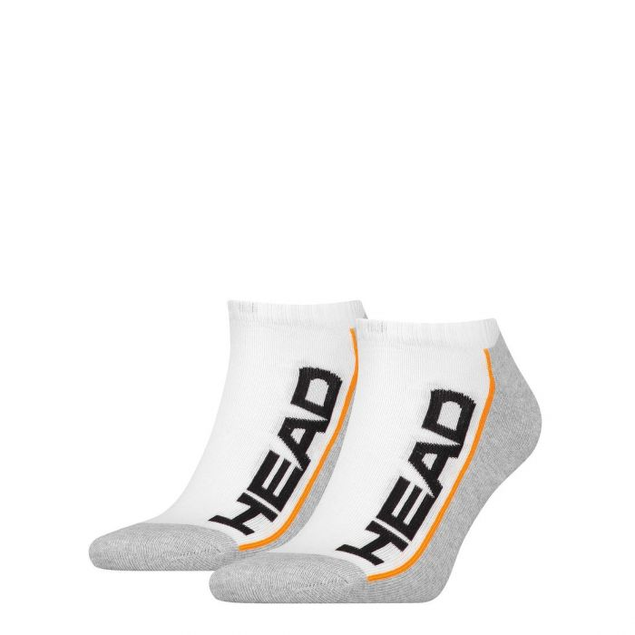 HEAD Stripe Sneaker 2-pack white/grey