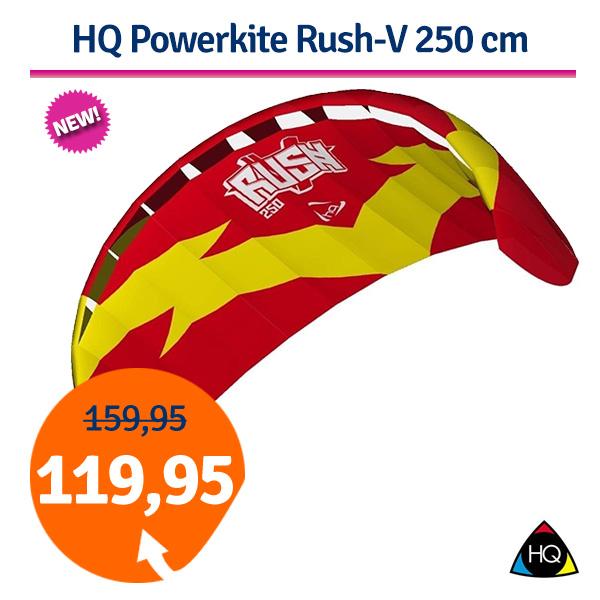 HQ Powerkite Rush-V 250 cm