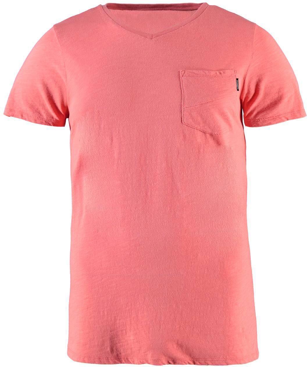 Brunotti Adrano Heren T-shirt V-hals Flamingo