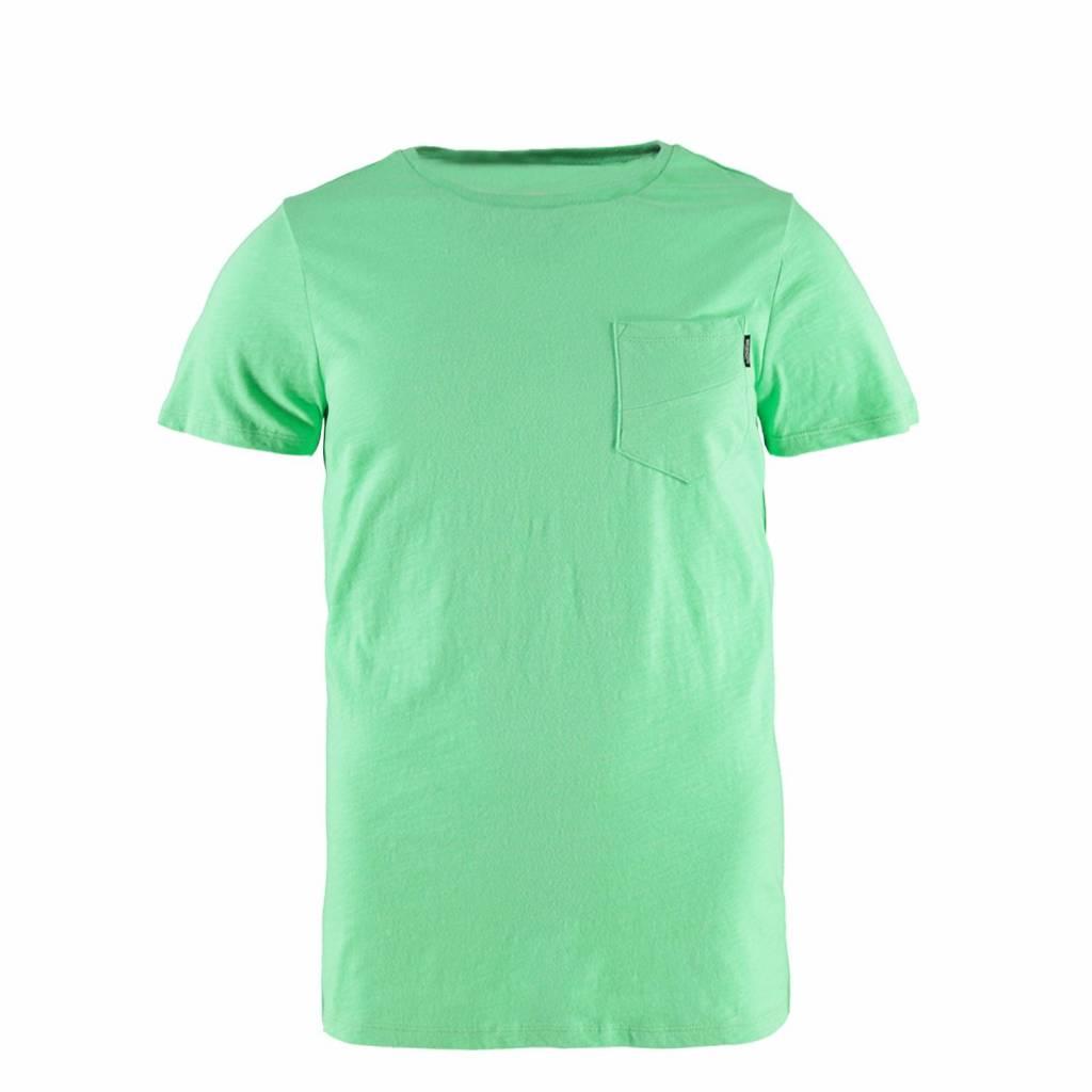Brunotti Alonte Heren T-shirt Ronde hals Spring Green