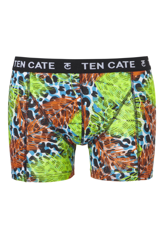 Ten Cate Men Printed Shorts 3224 Jungle Green