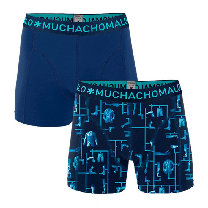 Muchachomalo Boxershorts 2-pack KITT-XL