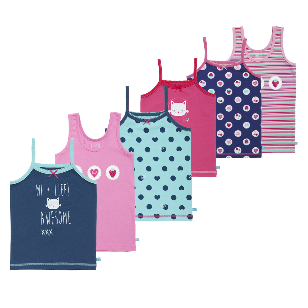 Lief Girls Verrassingspakket hemdjes 1-pack