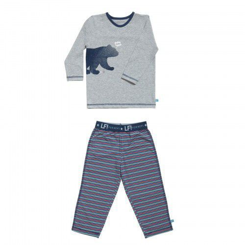 Lief! Boys Pyjama 4547 Grey Melee