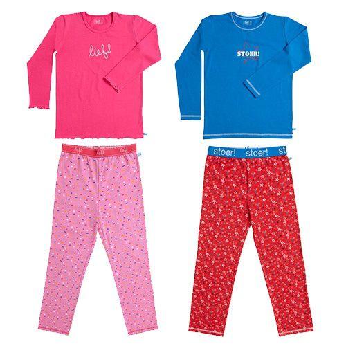 Lief! en Stoer! Pyjama-122/128-Meisjes