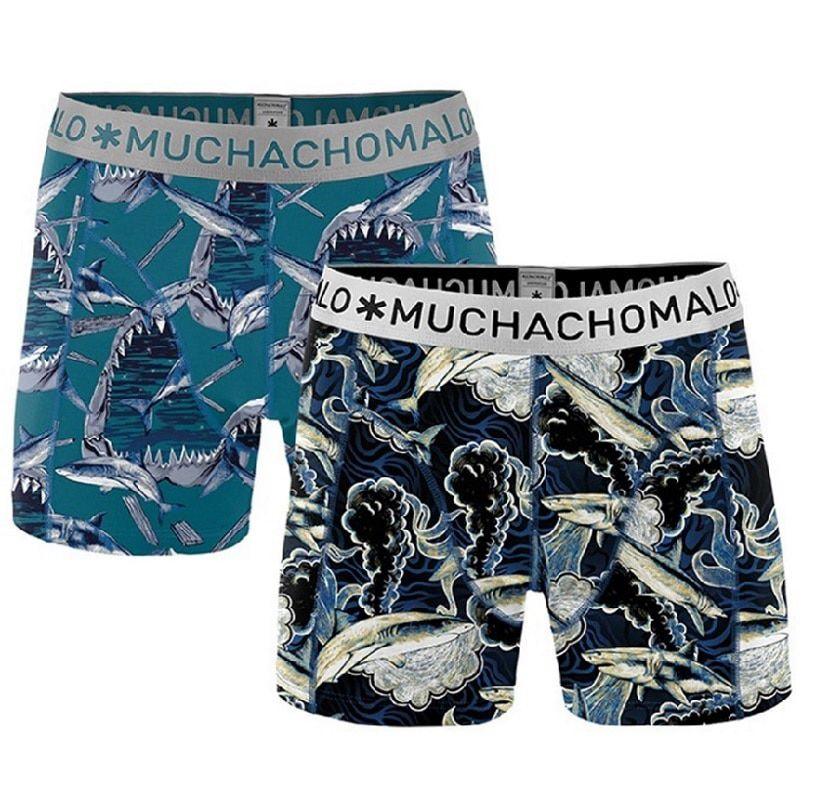 Muchachomalo 2-Pack Men Shorts Shark04