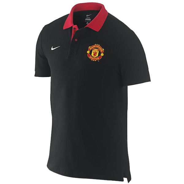 Nike Polo Manchester United Black