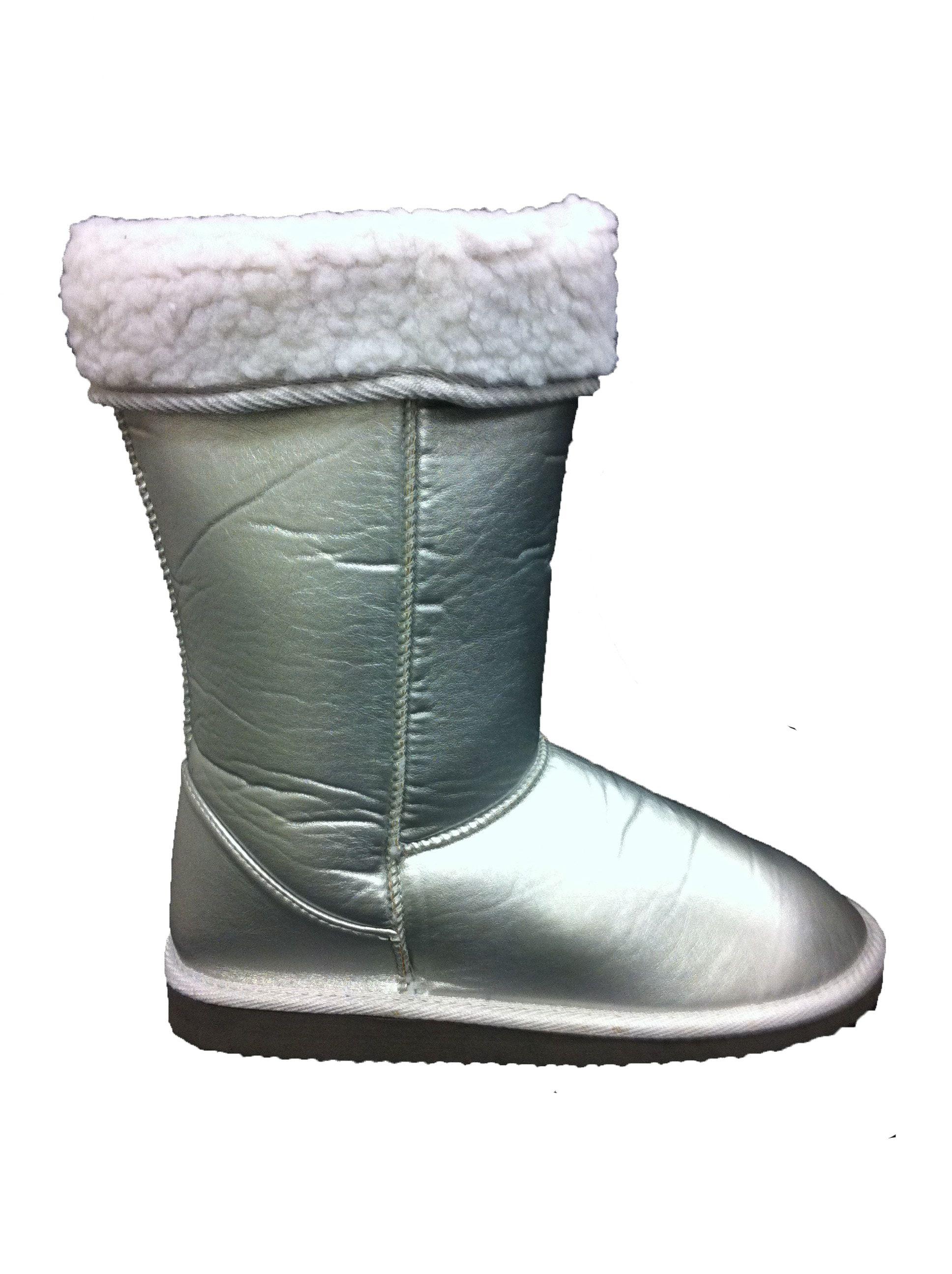 Zilvergrijze boots