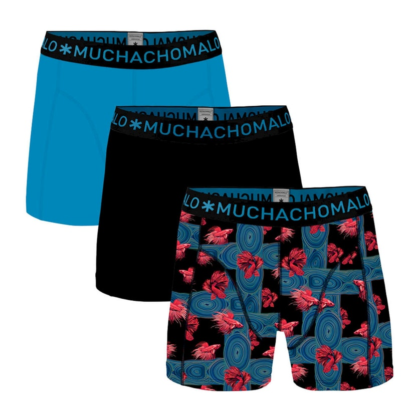 Muchachomalo boxershorts Agains the stream 3-pack-M