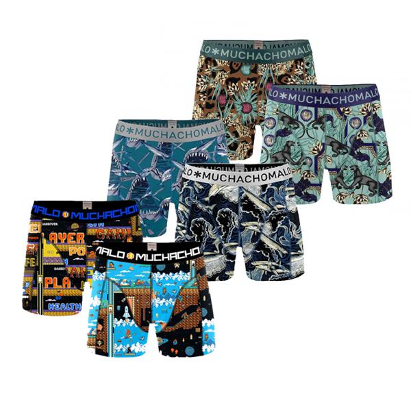 Muchachomalo Boxershorts Verrassingspakket 4-pack