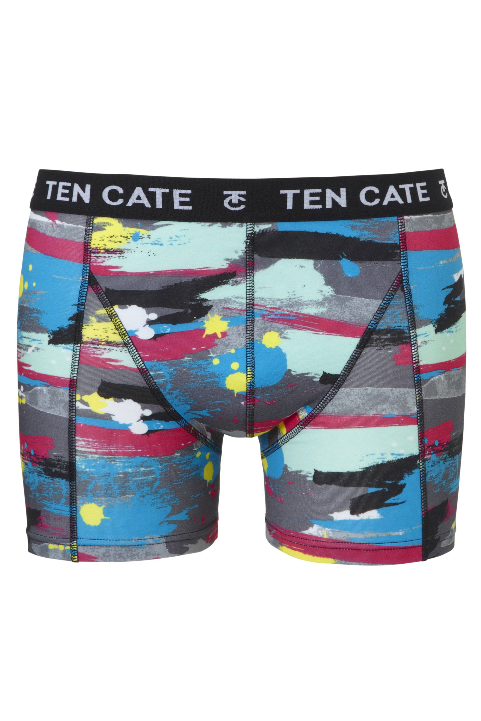 Ten Cate Men Printed Shorts 3224 Paint Antra