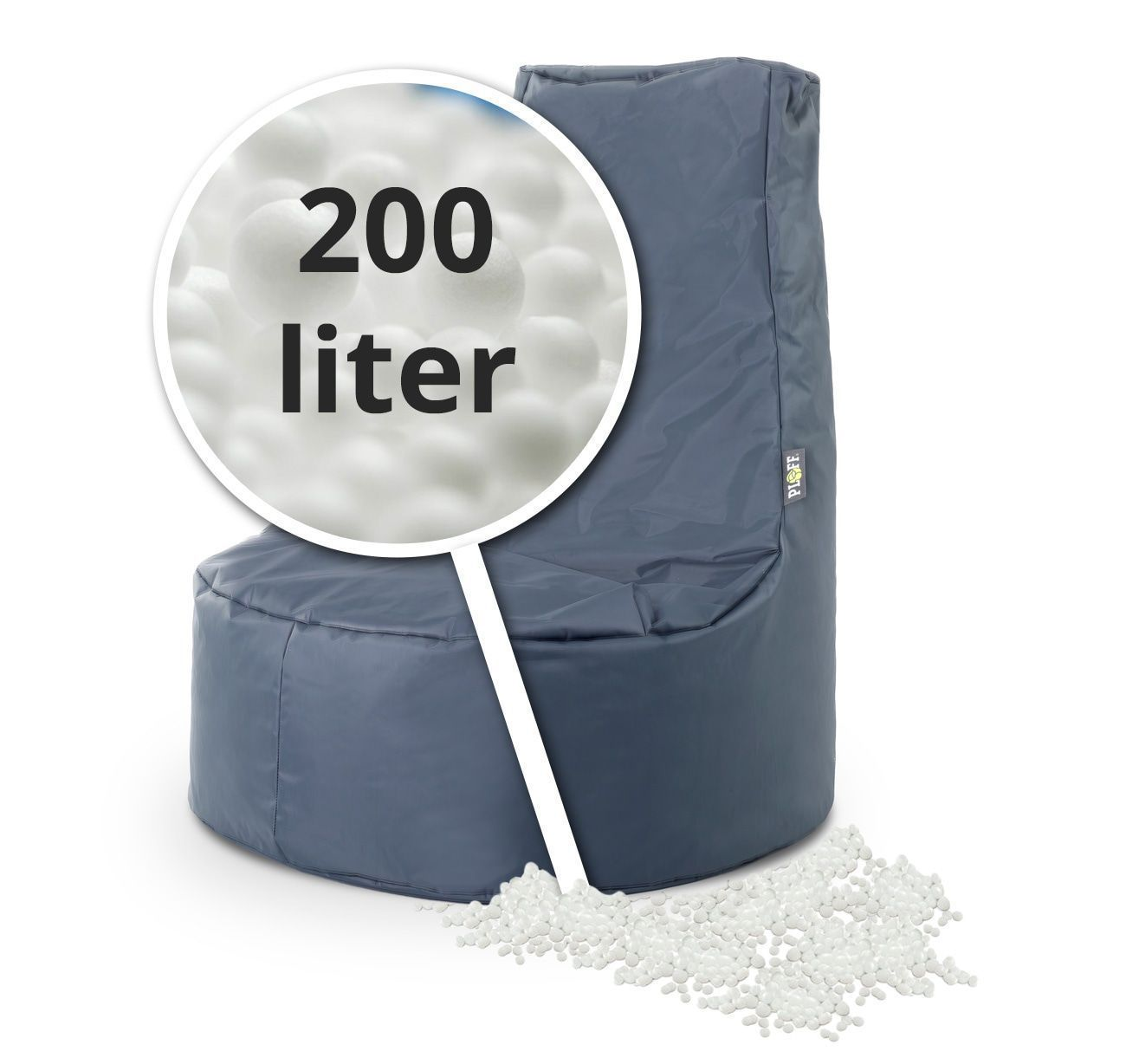 EPS Zitzak navulling 200 liter