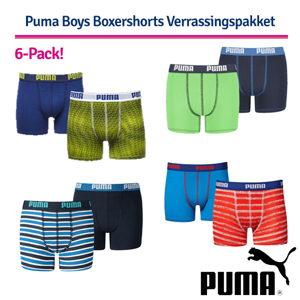 Puma Boys 6-Pack Husselpakket