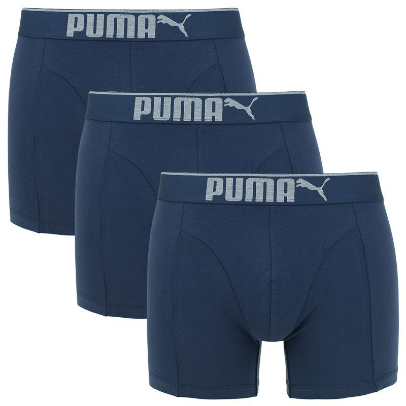 Puma Premium Sueded cotton Boxershort Navy-L