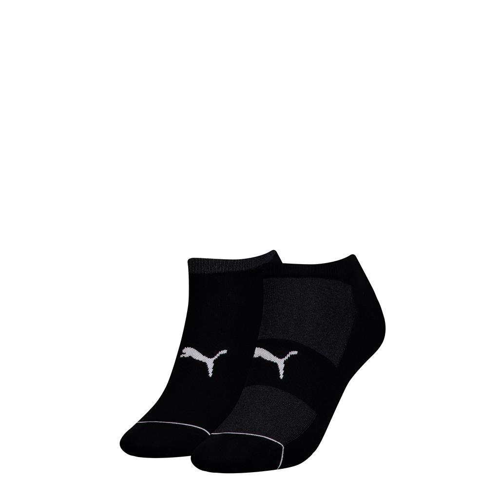 Puma sokken sneakers radient dames Black 2-pack