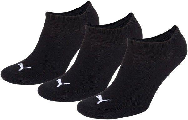 Puma sokken invisible zwart 3-pack-39-42