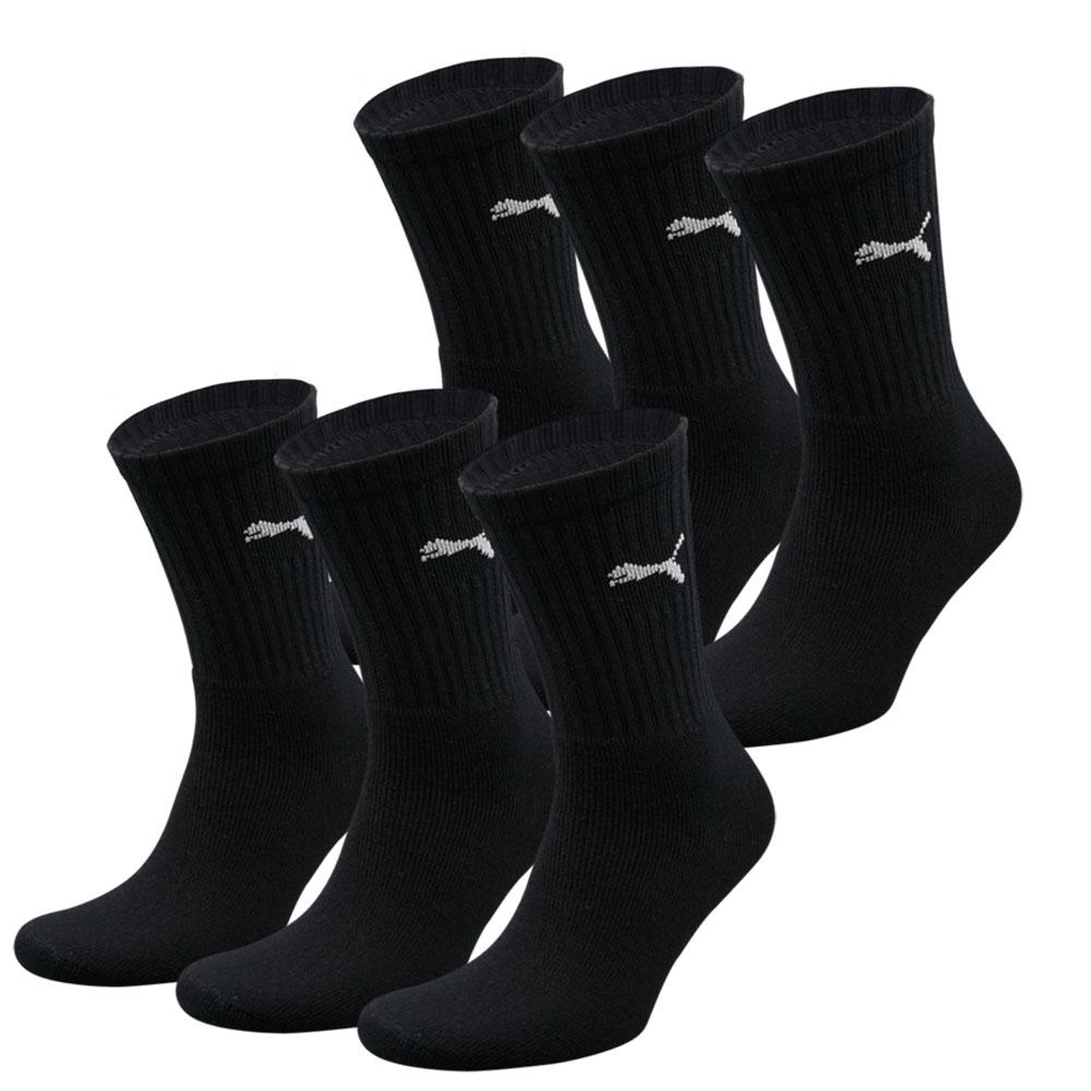 Puma sokken Sport zwart 6-pack-39/42