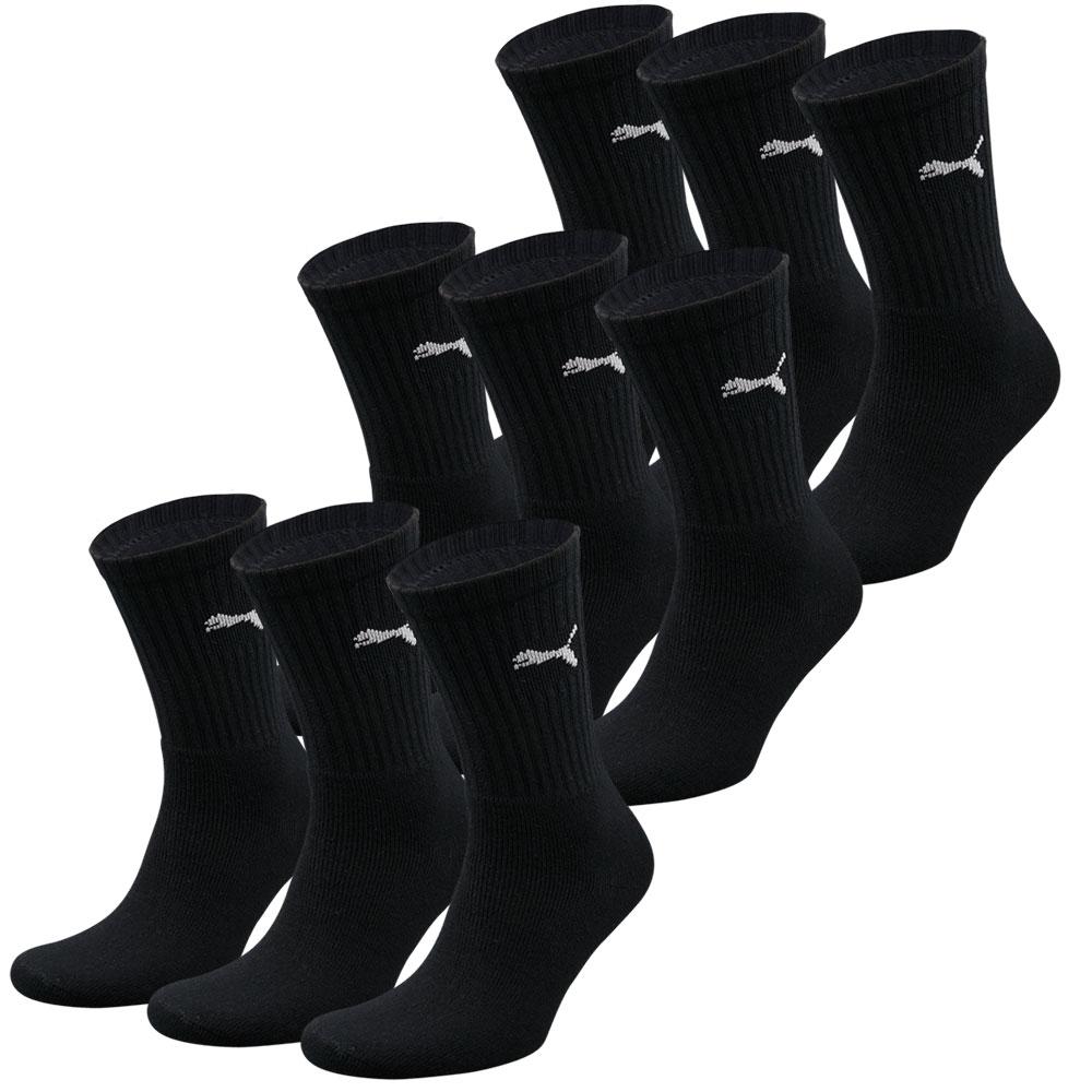 Puma sokken Sport zwart 9-pack-35/38