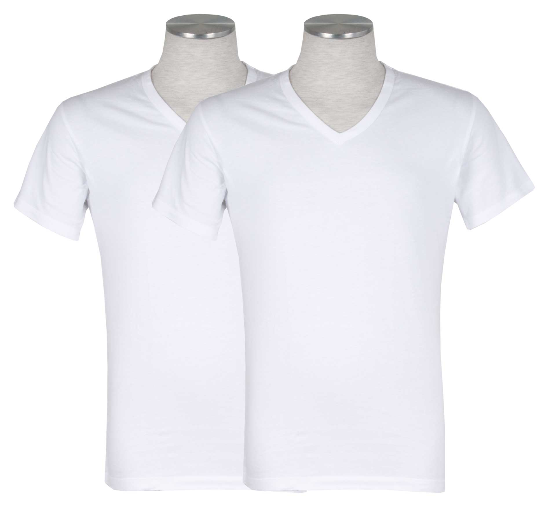 Puma 2-pack V-Neck T-shirt Wit