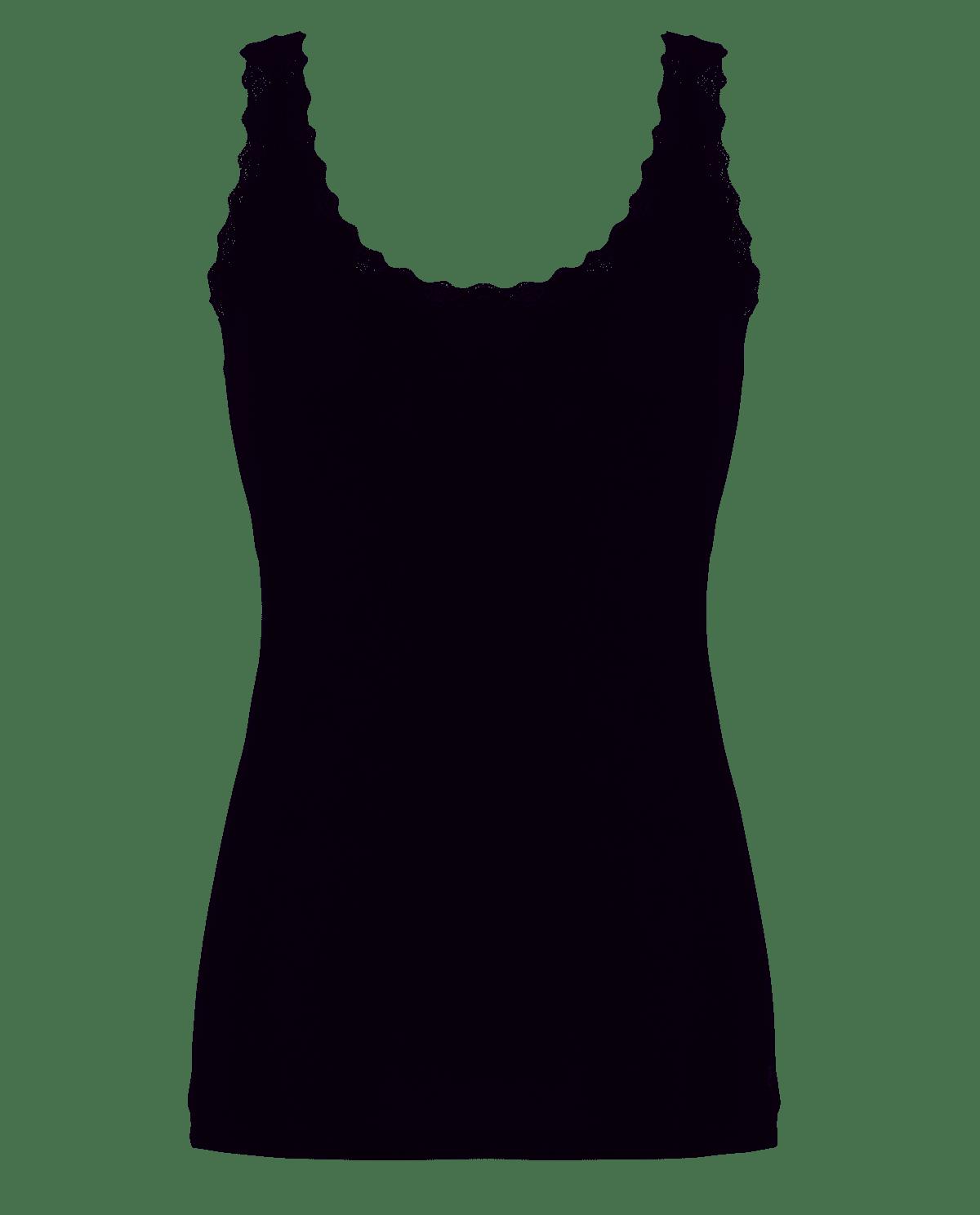 Ten Cate Cotton Women shirt Black-L