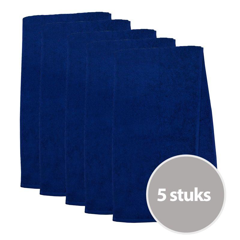 The One Sporthanddoek 450 gram Donker blauw (5 stuks)
