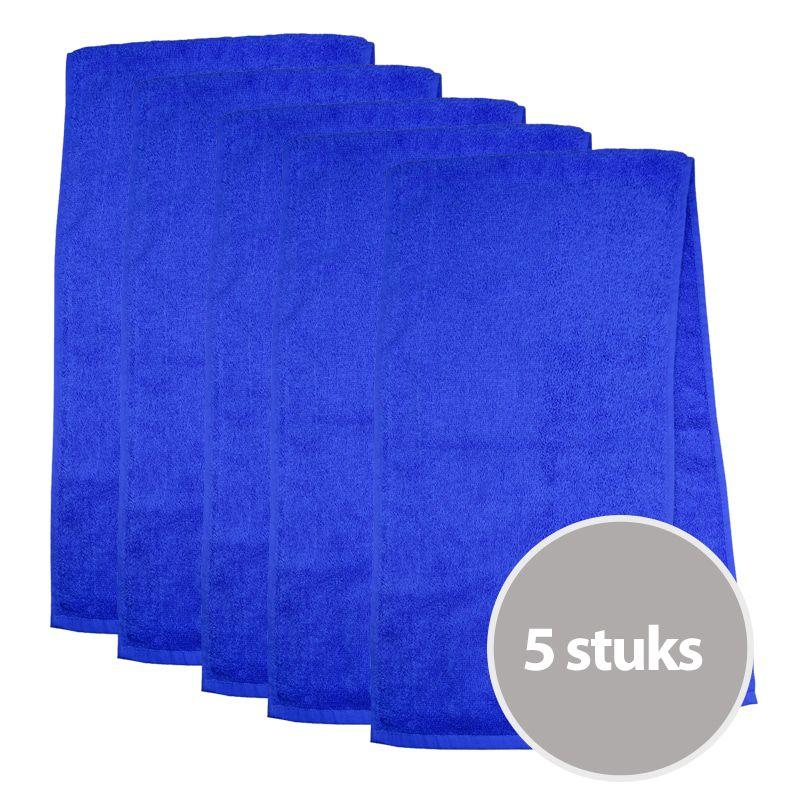 The One Sporthanddoek 450 gram Royal Blue (5 stuks)