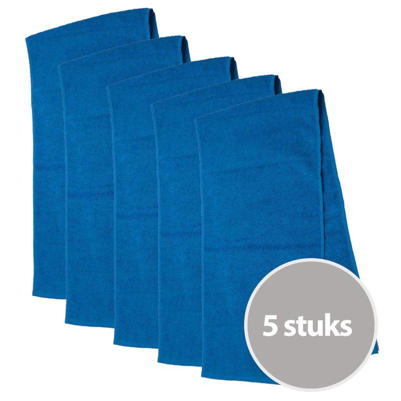 The One Sporthanddoek 30x130 cm 450 gram Turquoise (5 stuks)