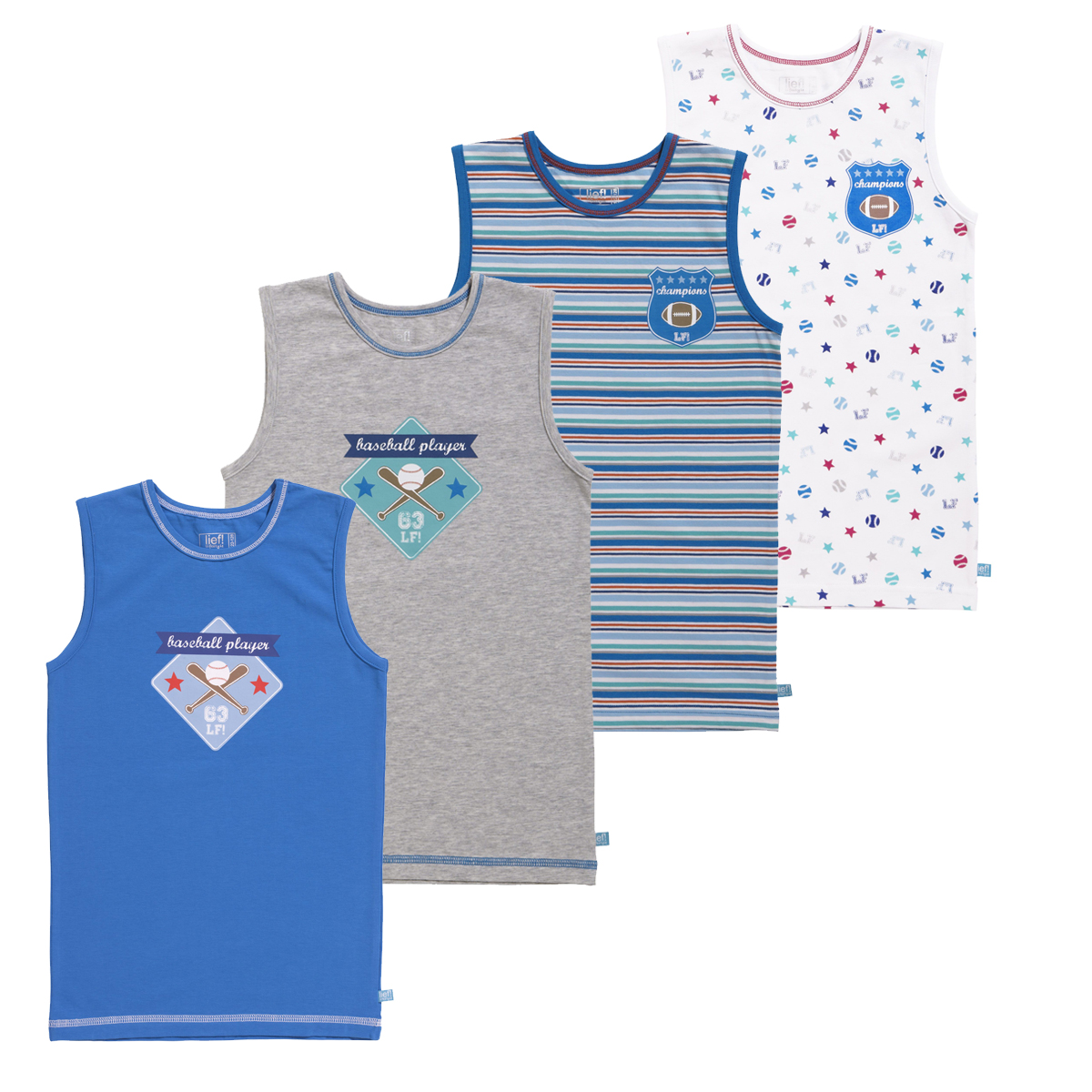 Lief Boys Verrassingspakket hemdjes 1-pack
